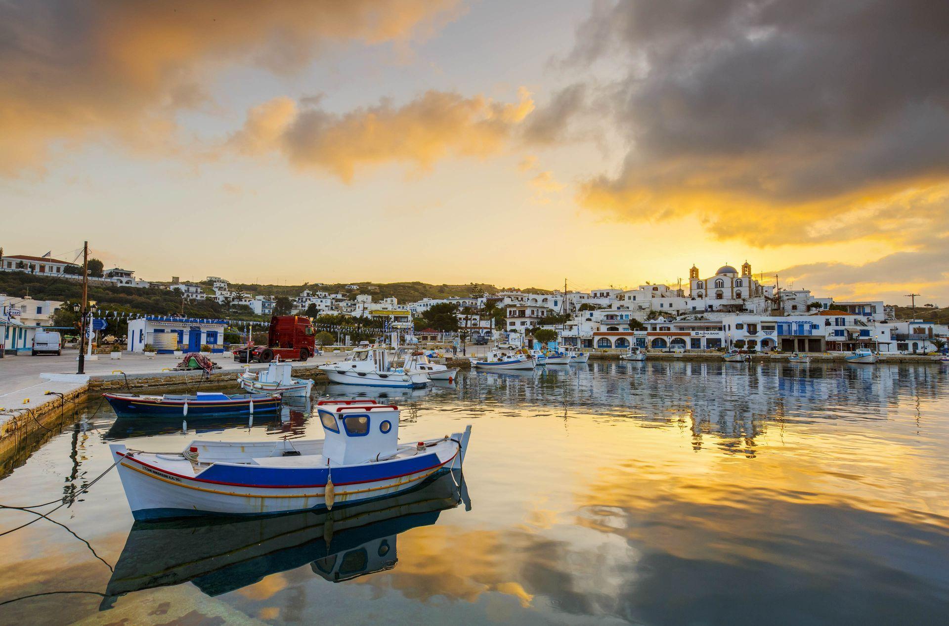 Lipsi island: Chora