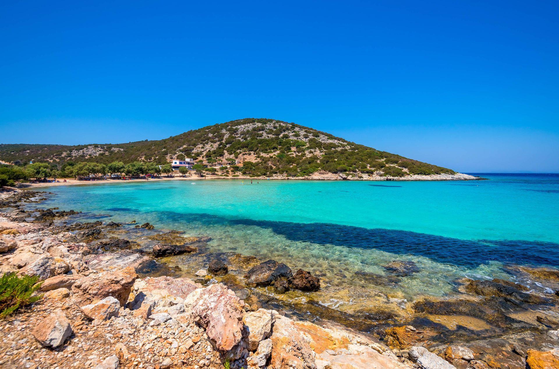 Lipsi island: Platis Gialos
