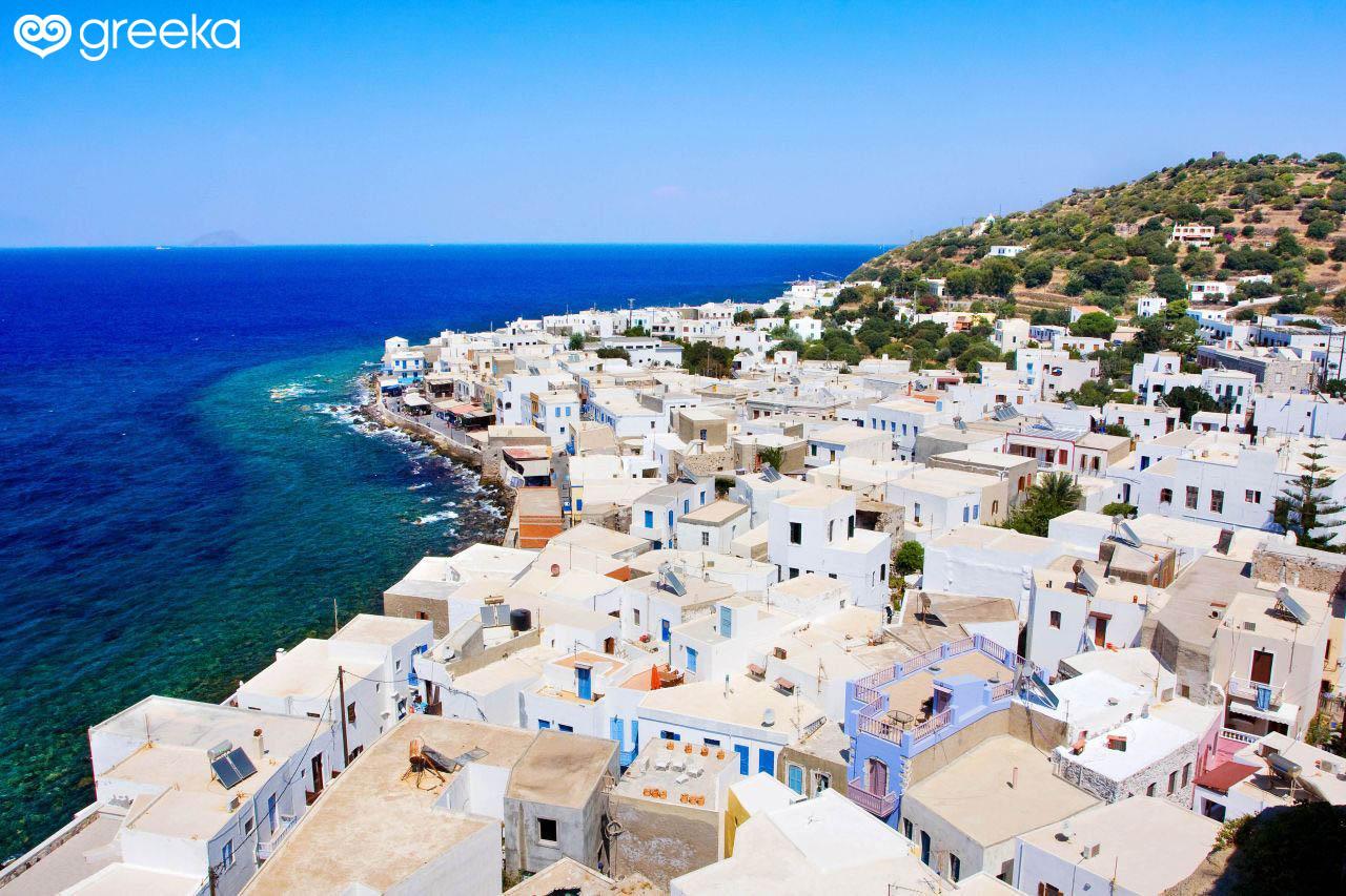Discover 4 villages in Nisyros island | Greeka