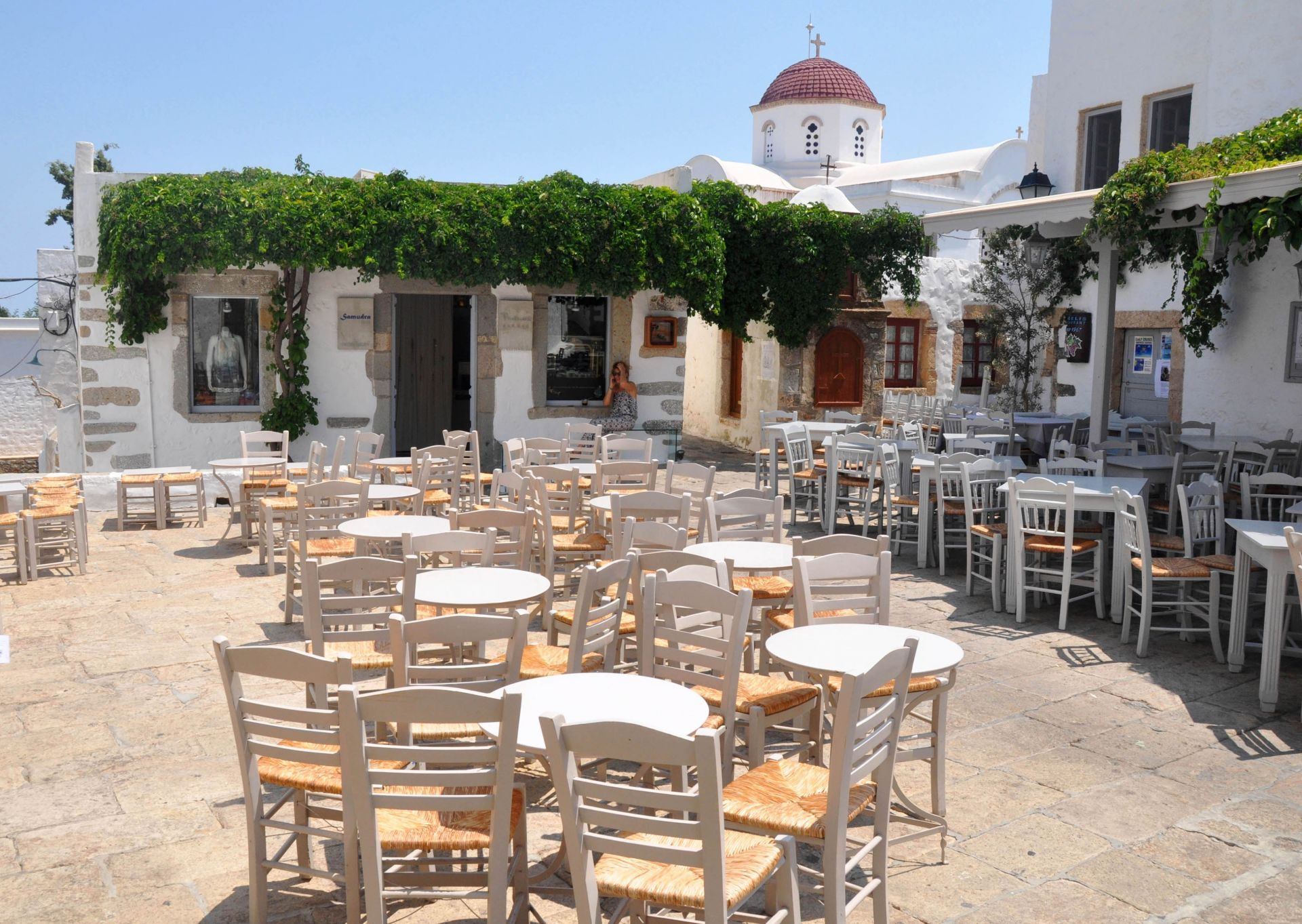 Cafes in Patmos