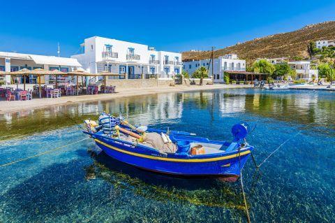 A lovely, fishing boat. Grikos village, Patmos.
