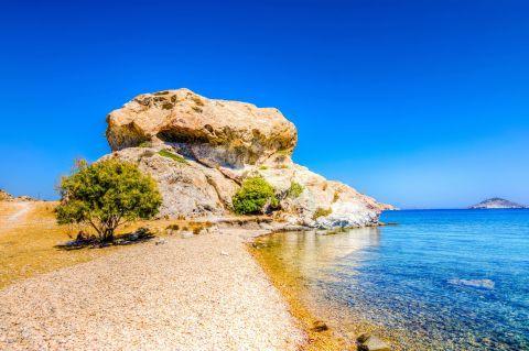 Petra beach, Patmos