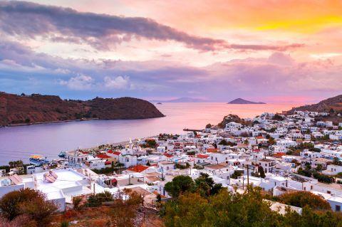 Traditional architecture and impressive sea view