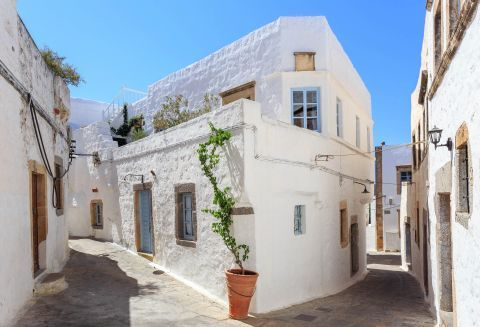 Traditional architecture of Patmos island.