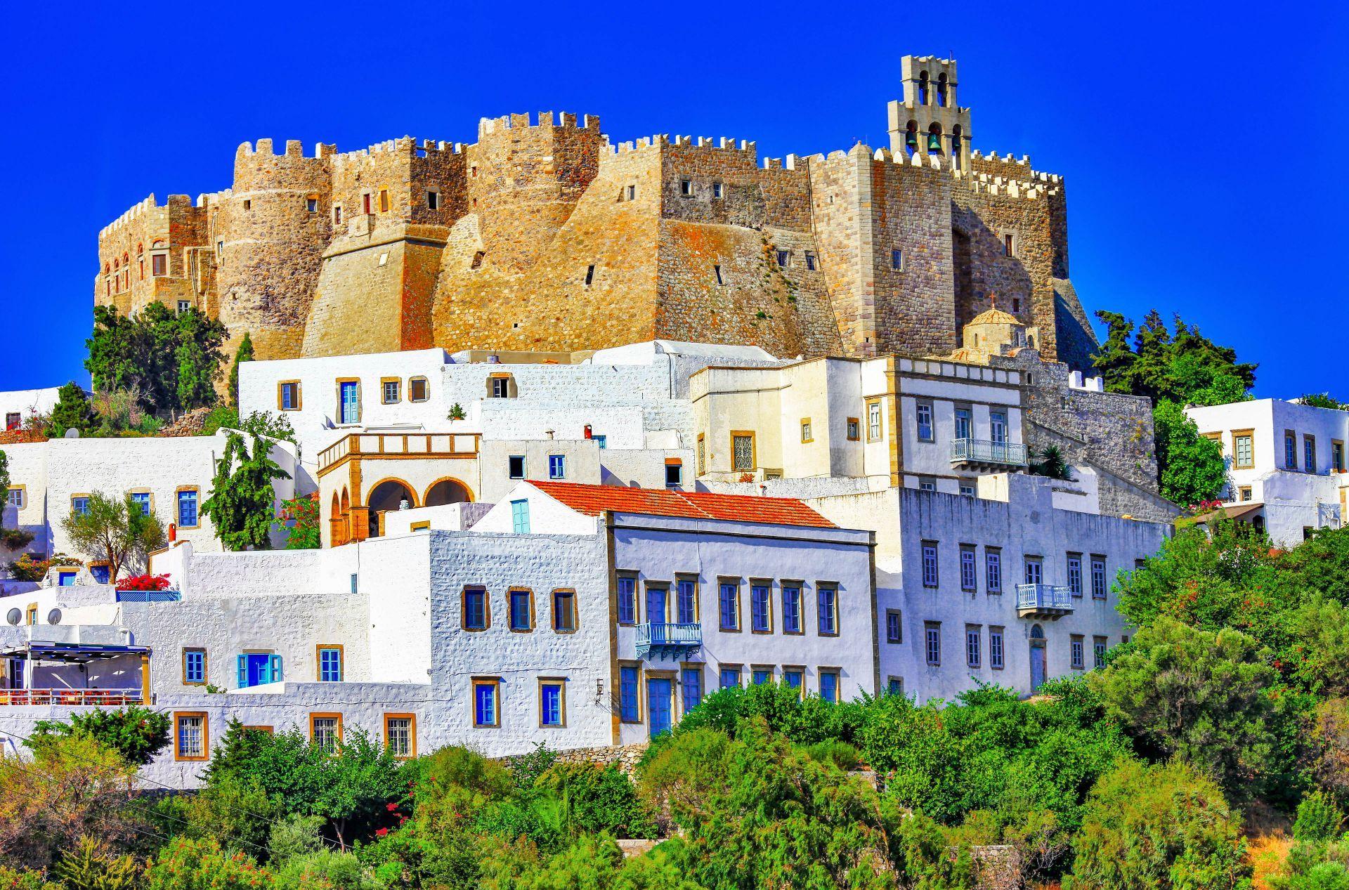 Patmos island: Saint John Monastery