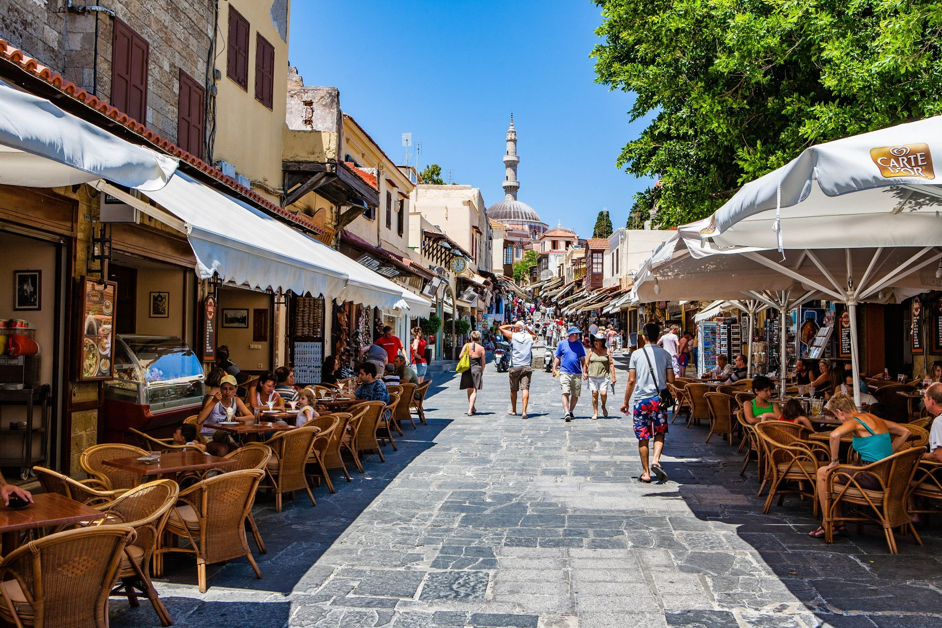 Cafes in Rhodes