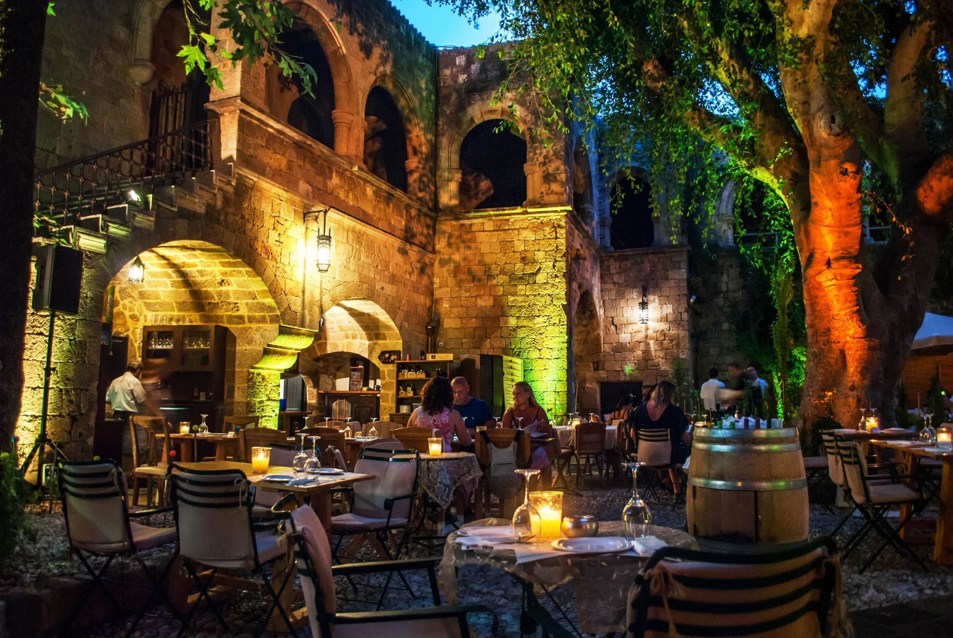 Places to eat and drink in Rhodes