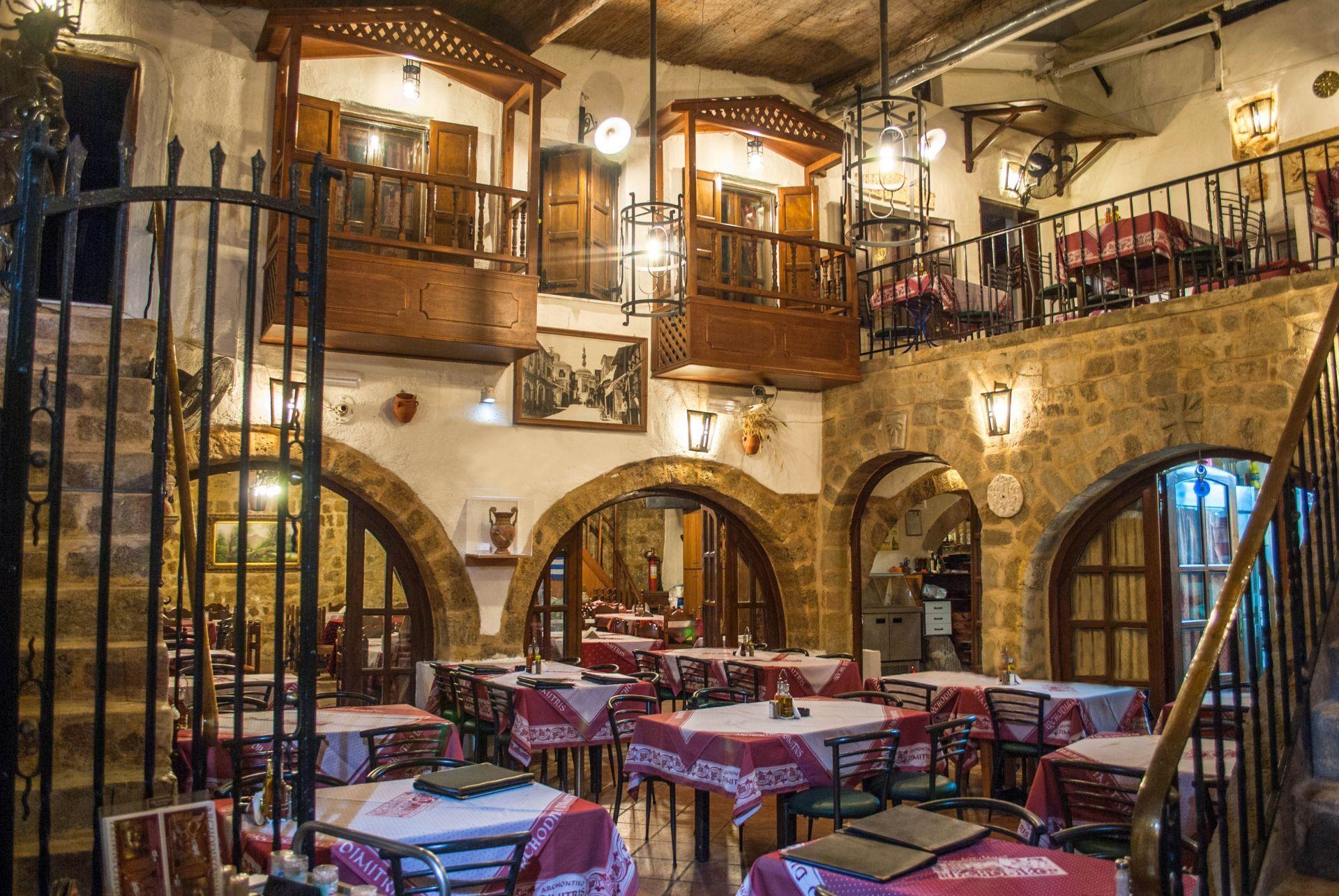 Restaurants in Rhodes