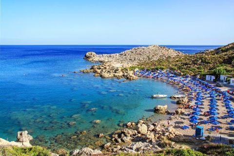 Ladiko beach, Rhodes.
