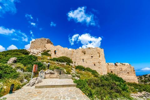 The Castle of Kritinia, Rhodes.
