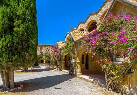 Filerimos Monastery.