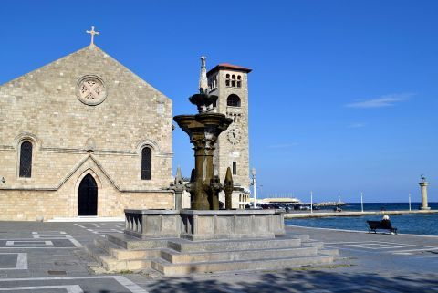 The Church of Annunciation and the Town Clock