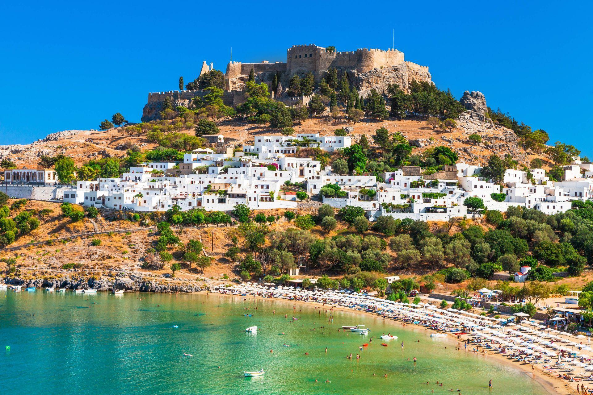 Rhodes Greece: Lindos