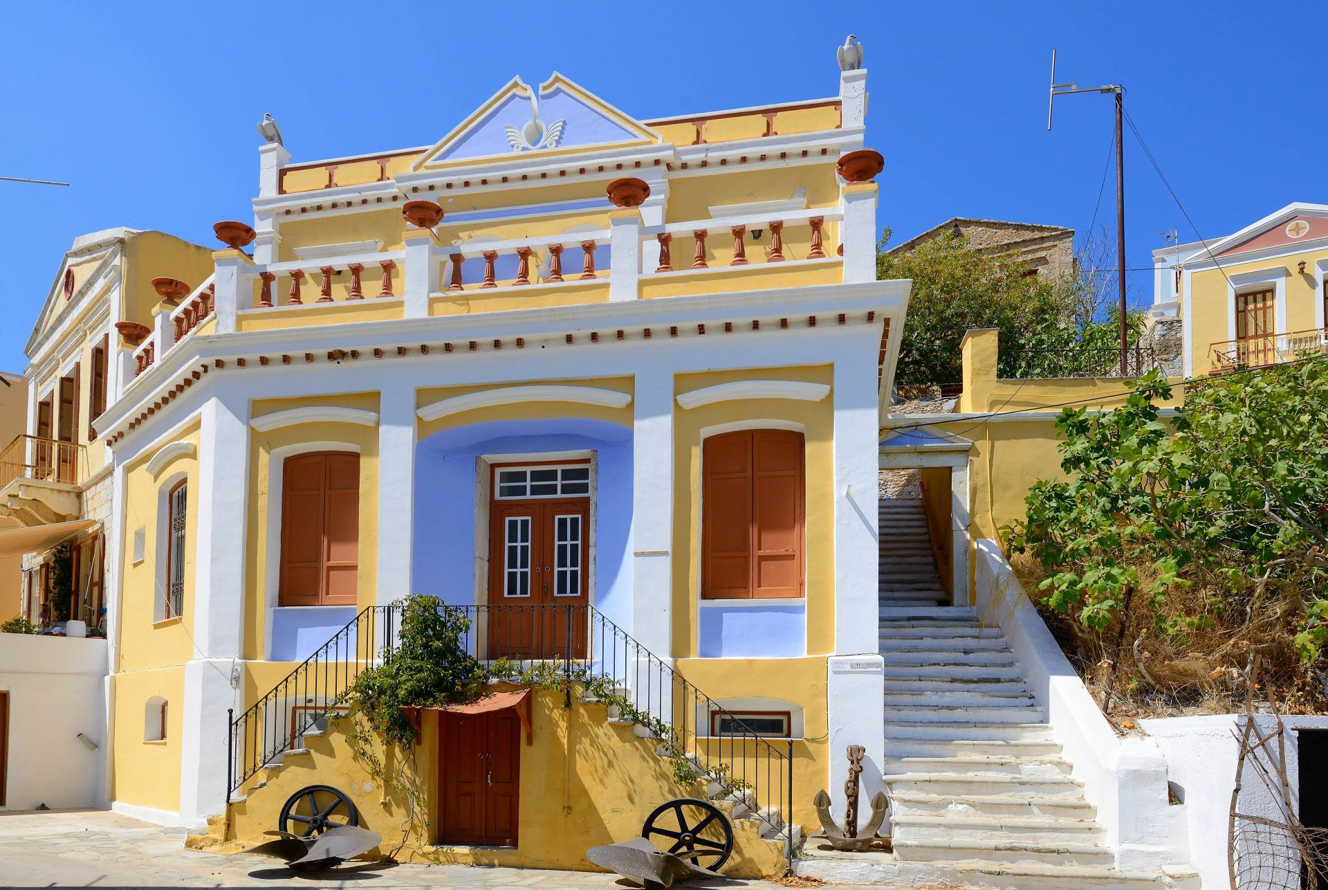 Accommodation and hotels in Symi