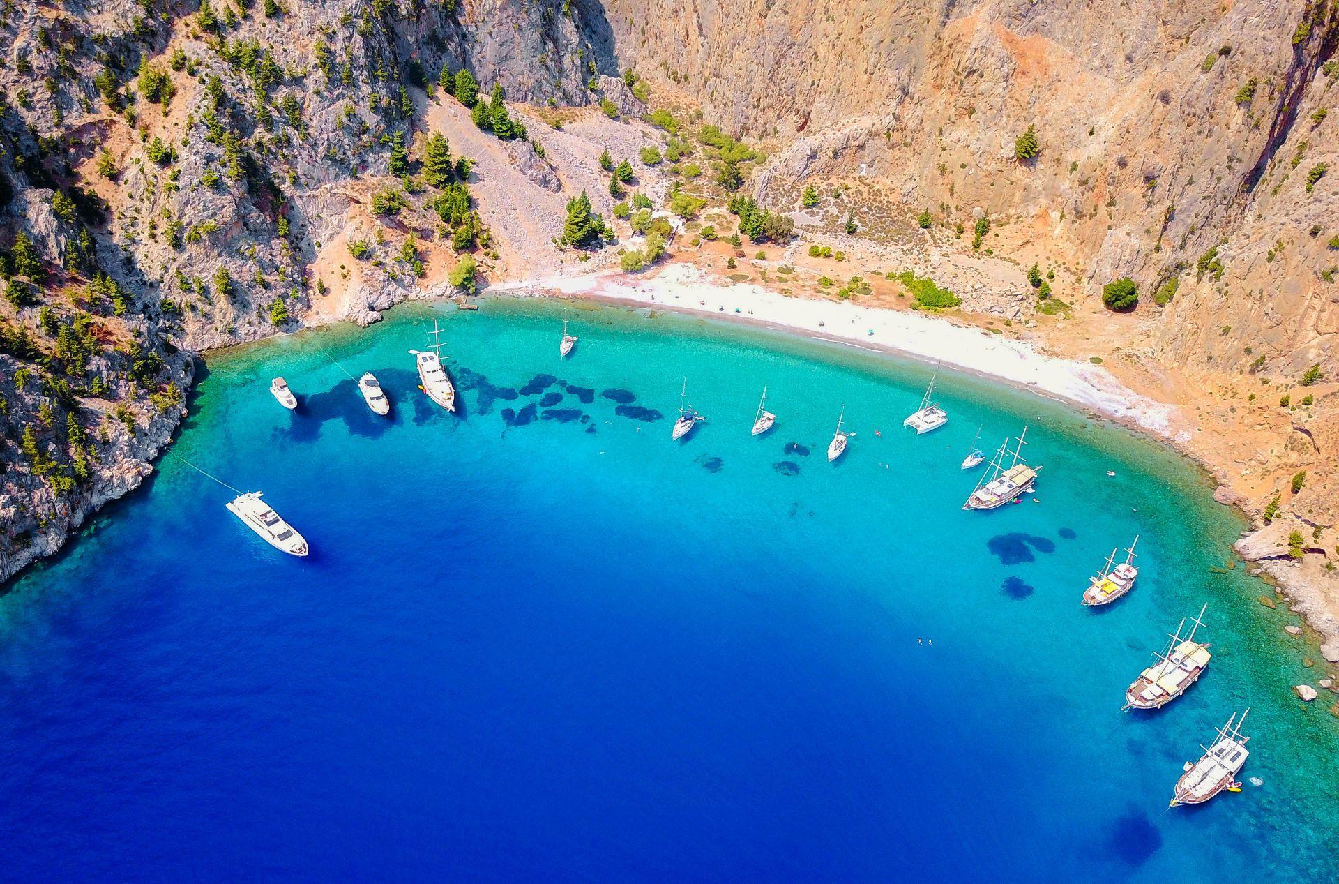 Simi island: Agios Georgios