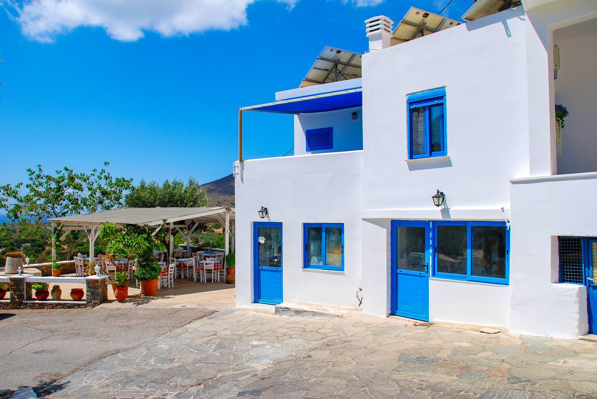 Places to eat and drink in Tilos