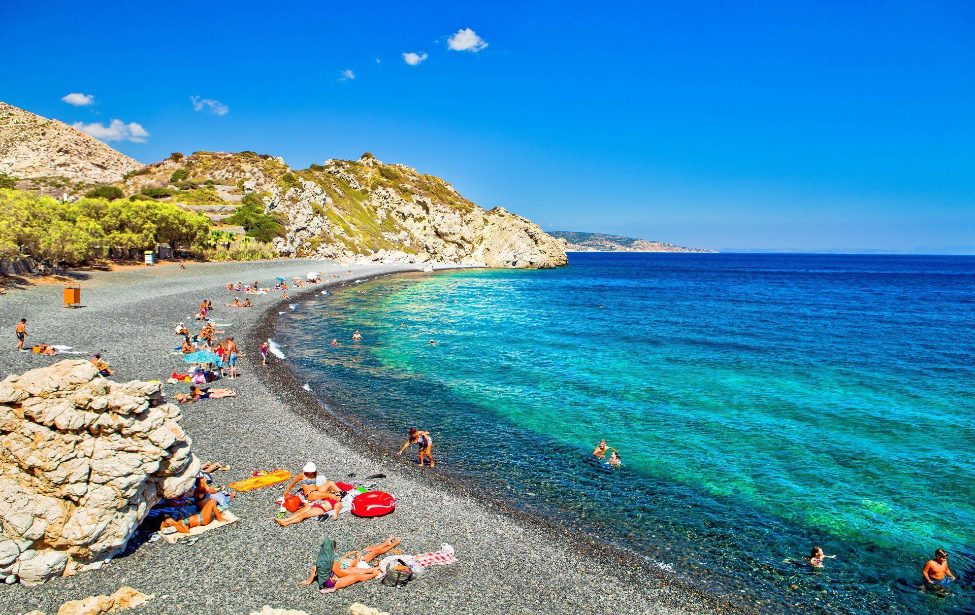 Chios island: Mavros Gialos