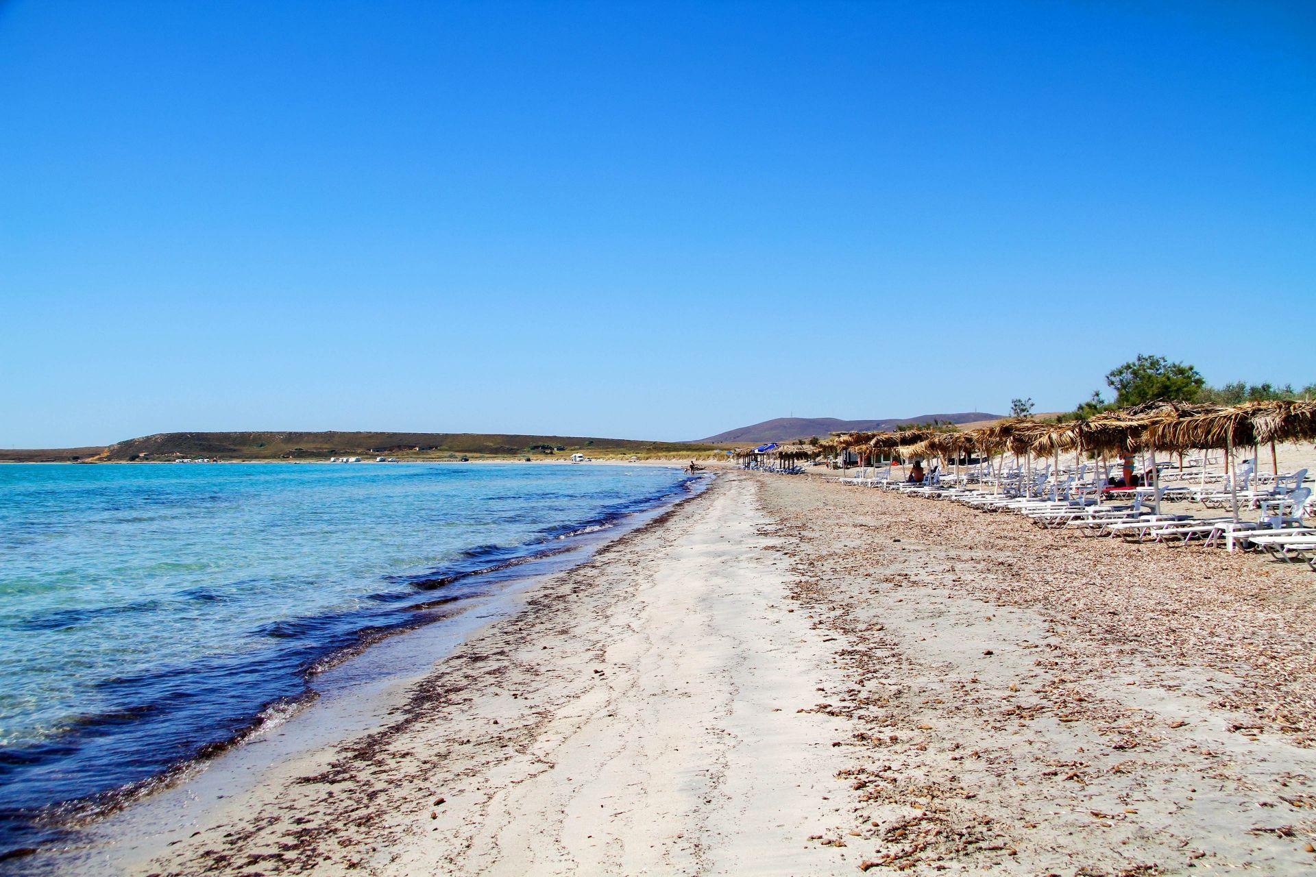 Lemnos island: Keros beach