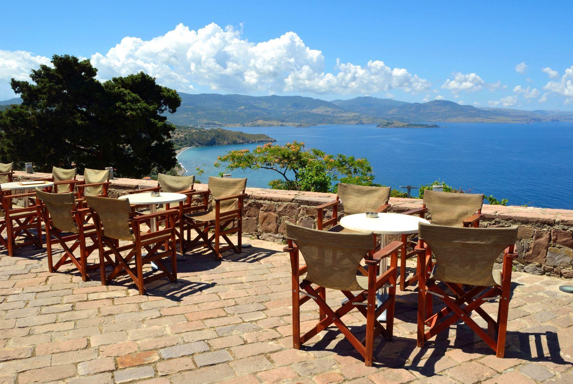 Cafe in Lesvos
