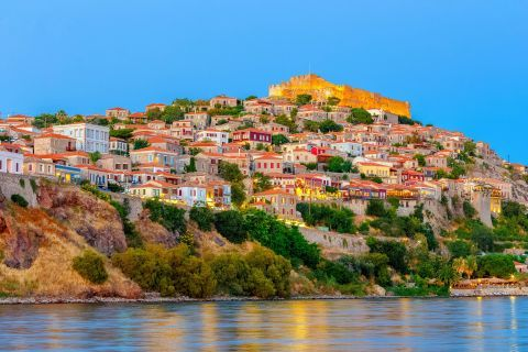 View of the Molyvos Castle