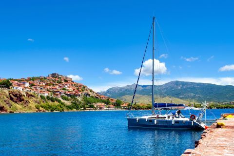 The harbor of Molyvos