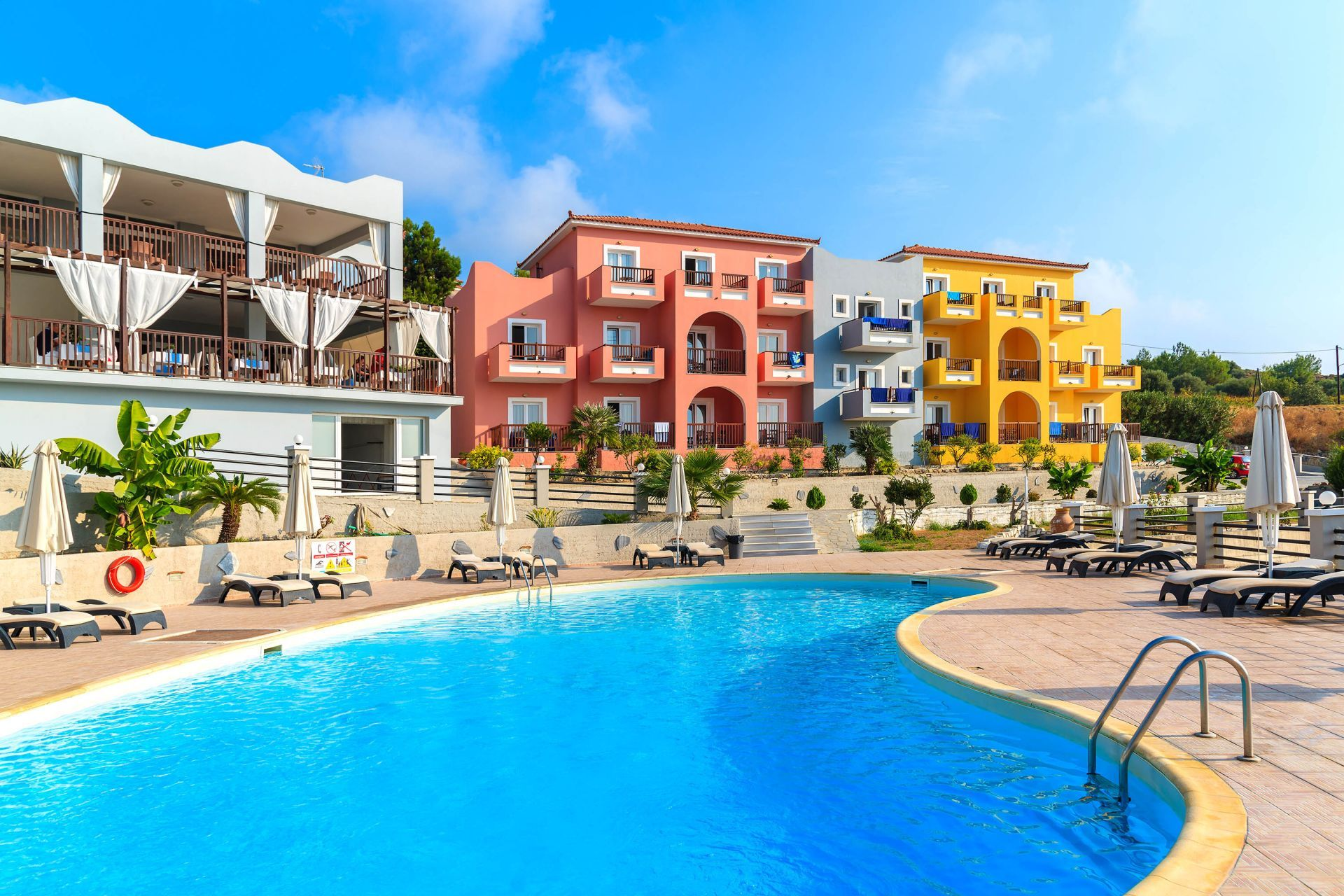 Accommodation and hotels in Samos