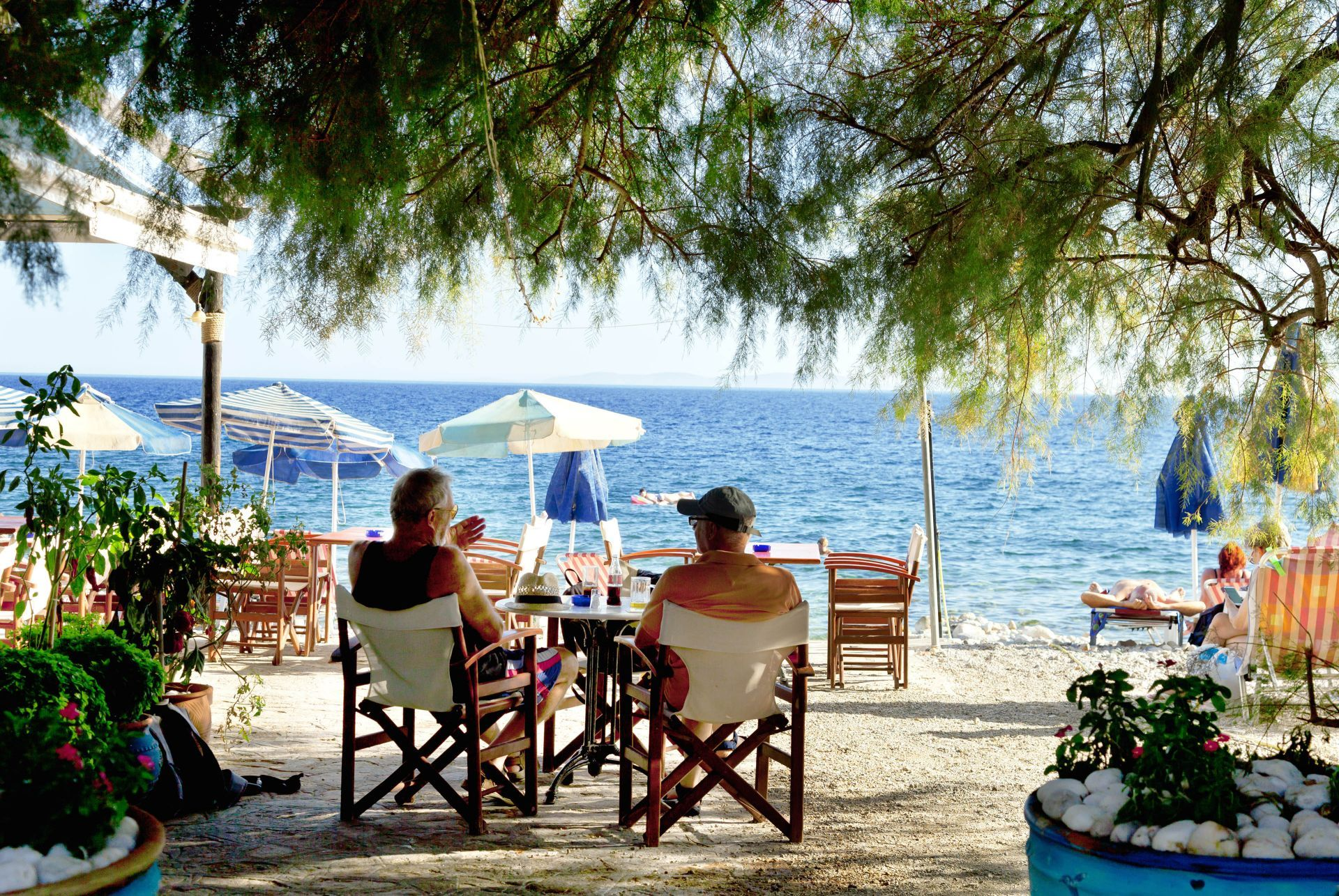 Cafes in Samos