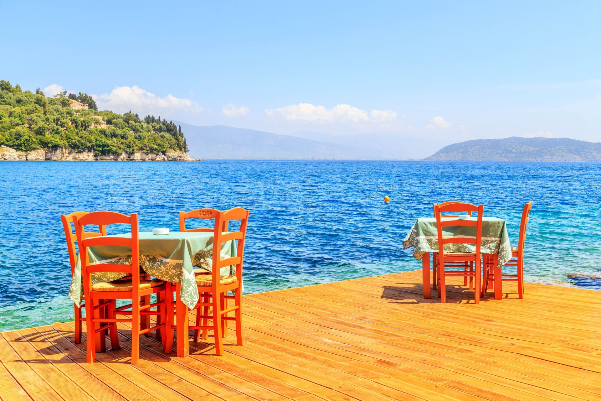 Places to eat and drink in Samos