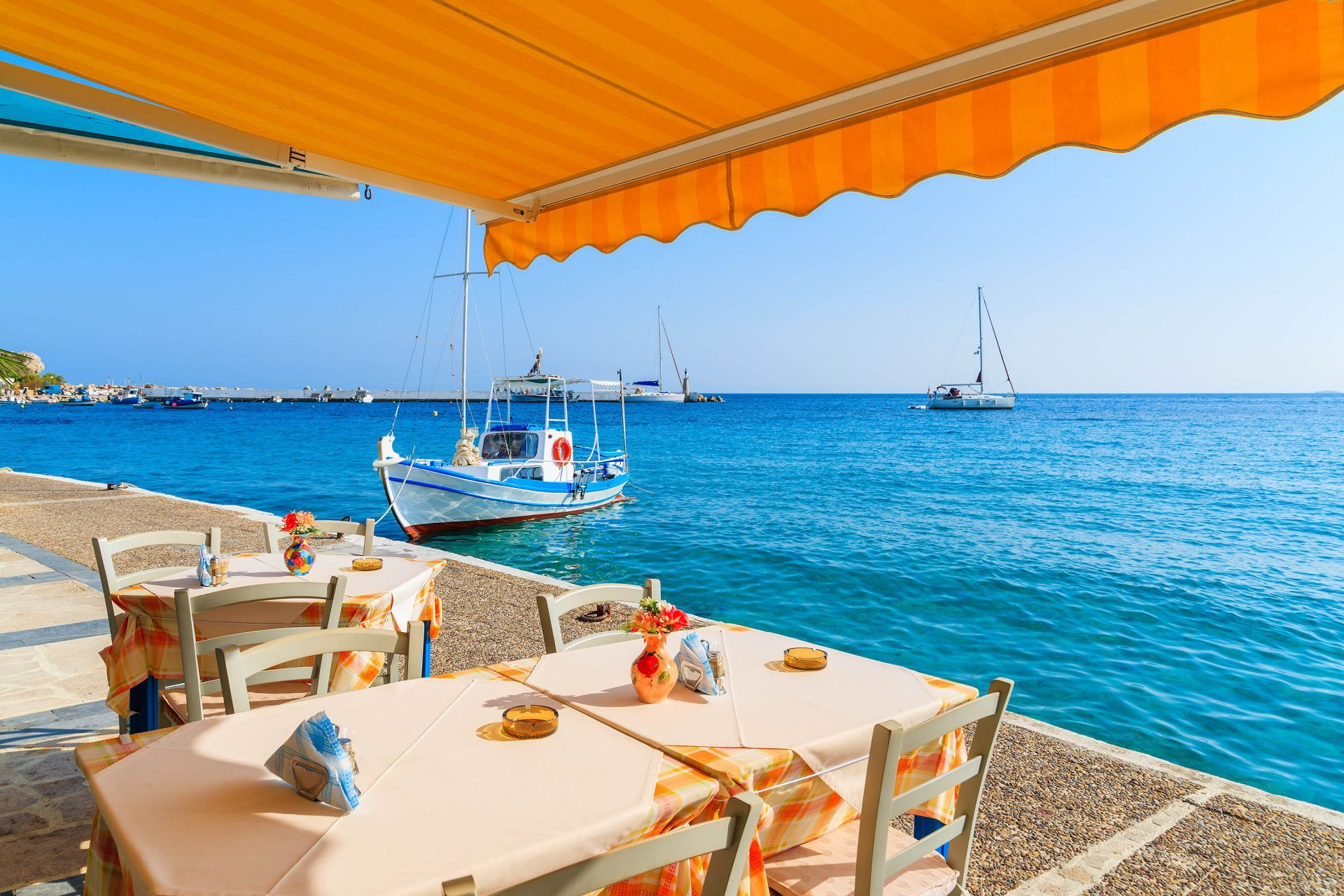 Restaurants in Samos