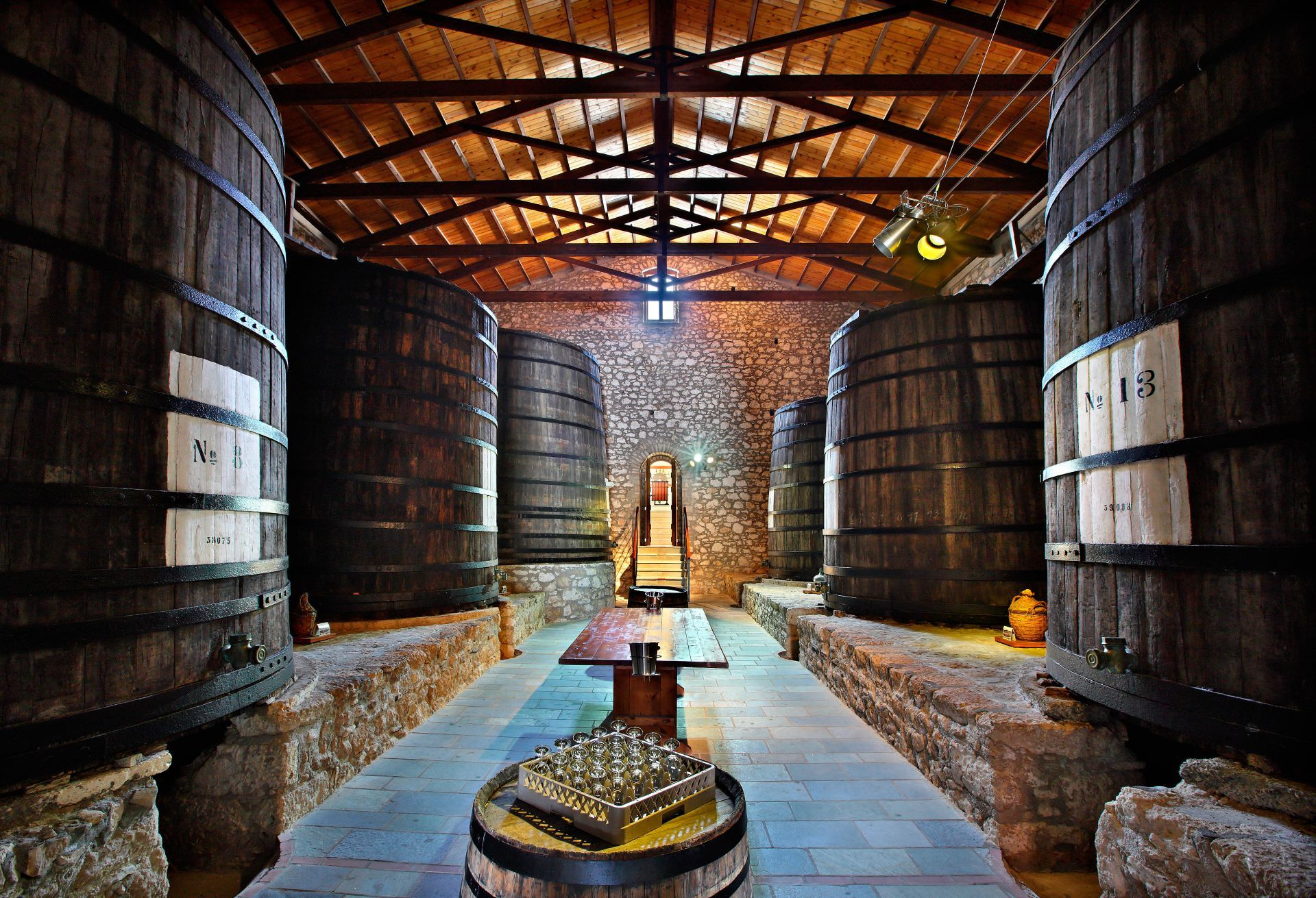 Wineries in Samos