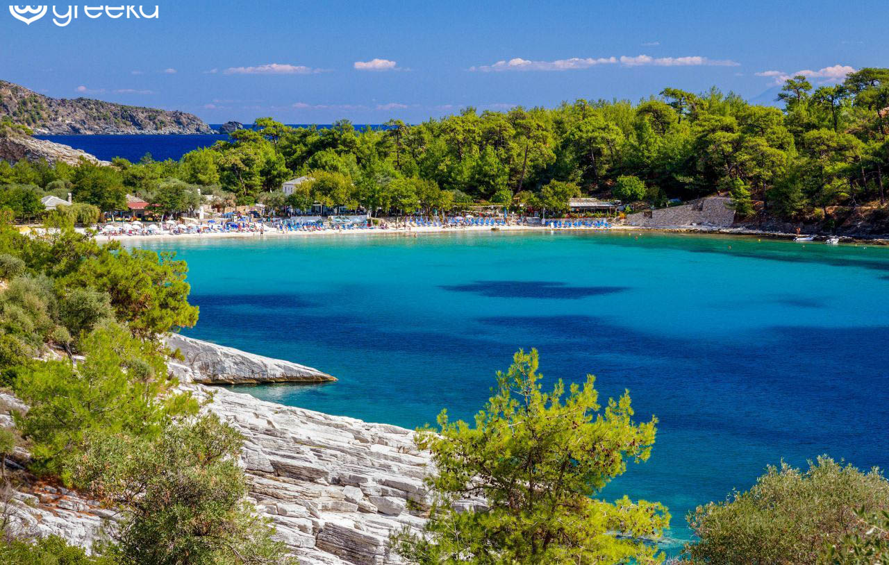 Best 34 Beaches In Thassos Greece Greeka Com