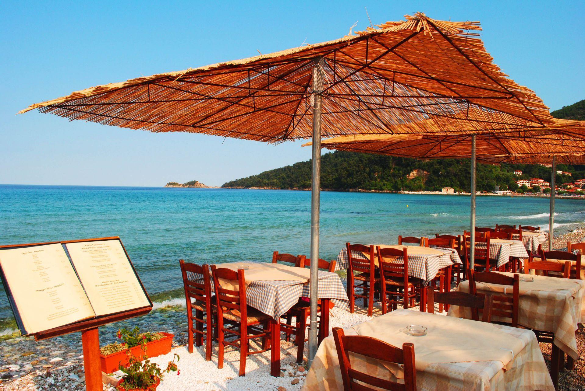 Restaurants in Thassos