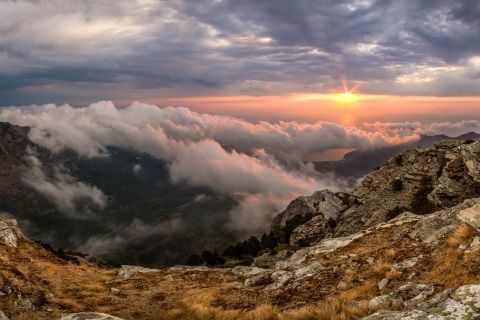 Enchanting view from Ipsarion moutain.