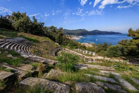 The Ancinet Theater of Thassos