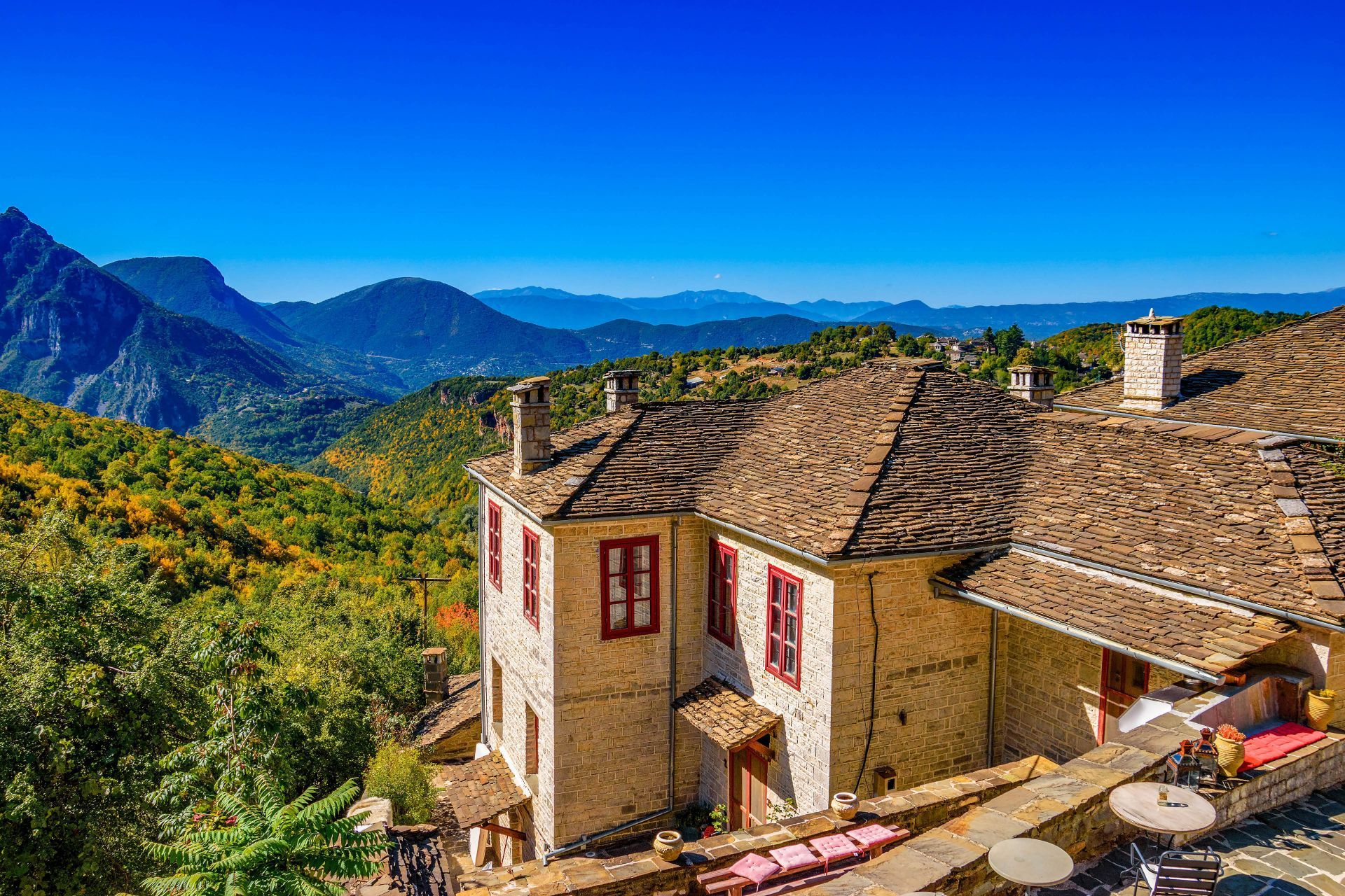Accommodation and hotels in Epirus