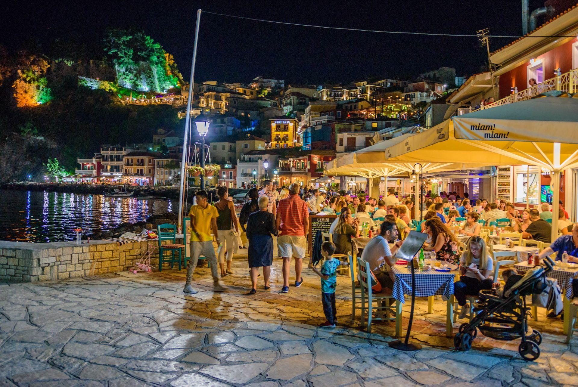 Restaurants in Parga