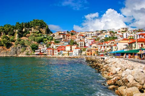 A picturesque spot in Parga Town