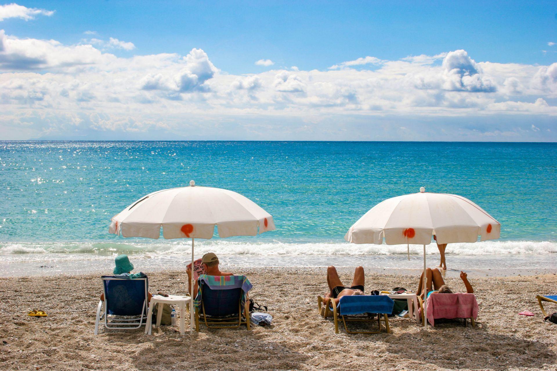 Parga: Valtos beach