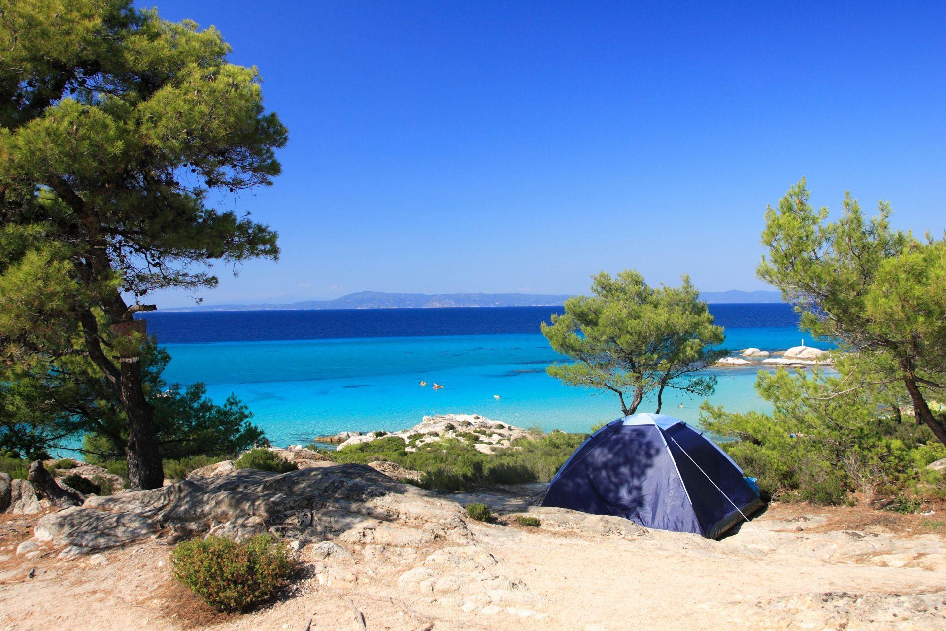 Campings in Greece