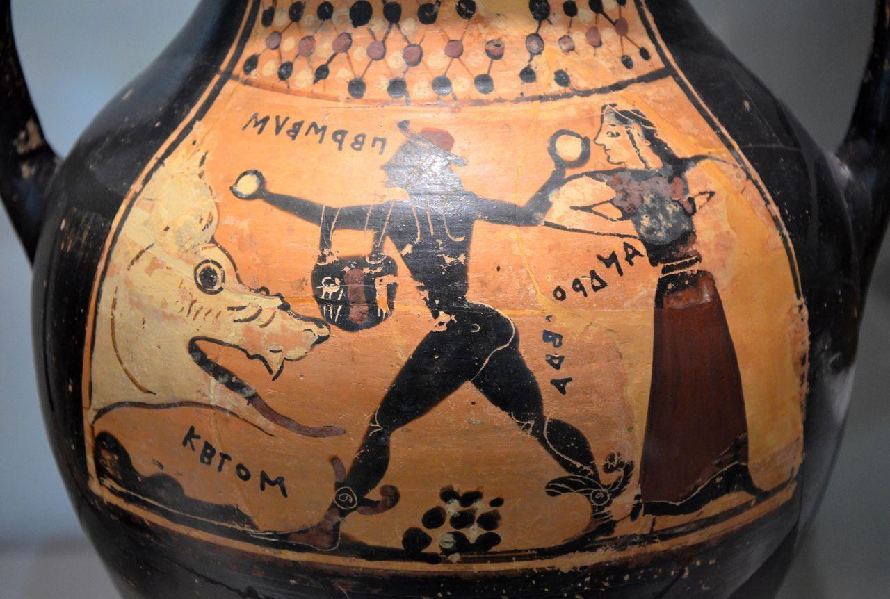 Myth of Perseus and Andromeda - Greeka com