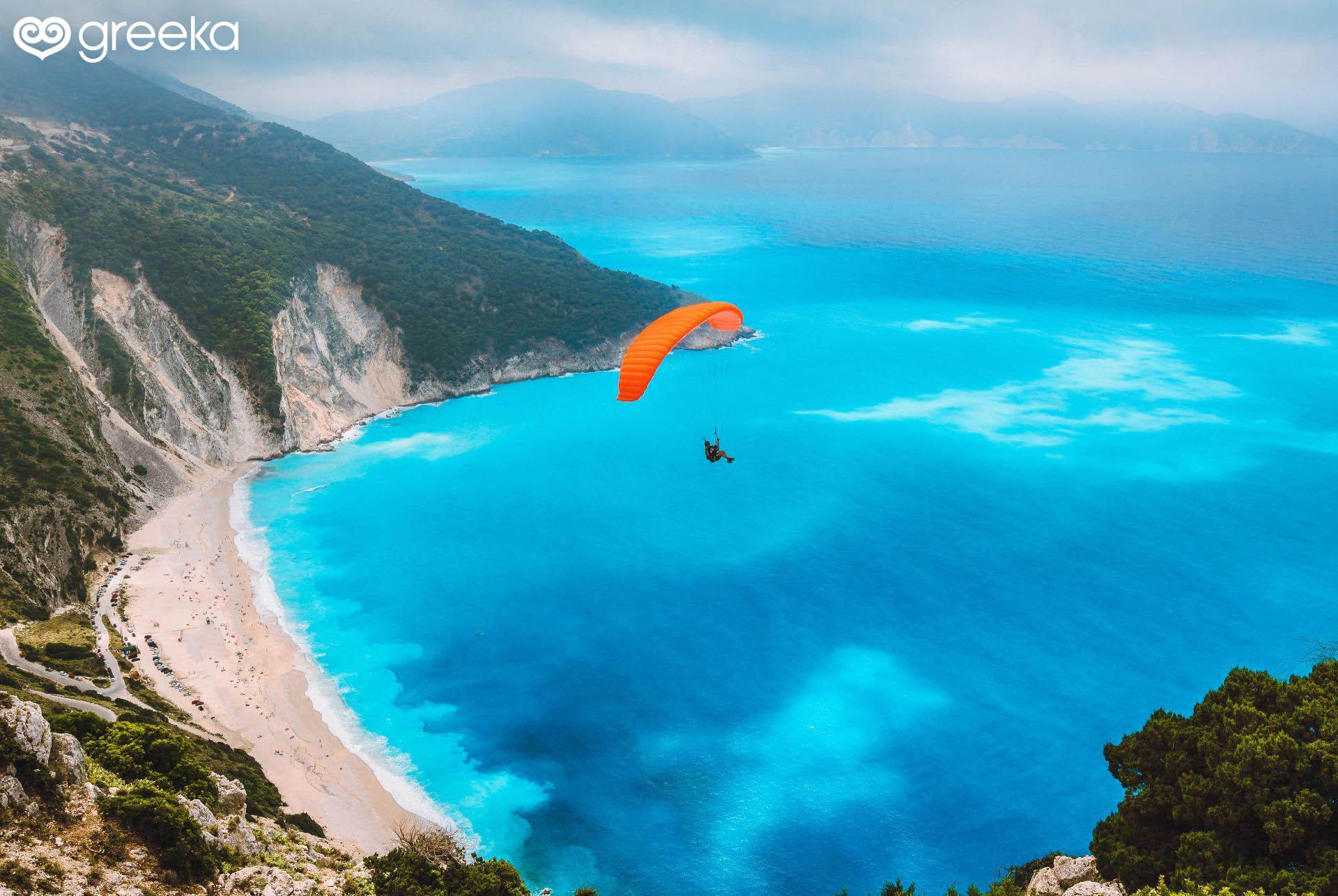 Greece sports: Paragliding
