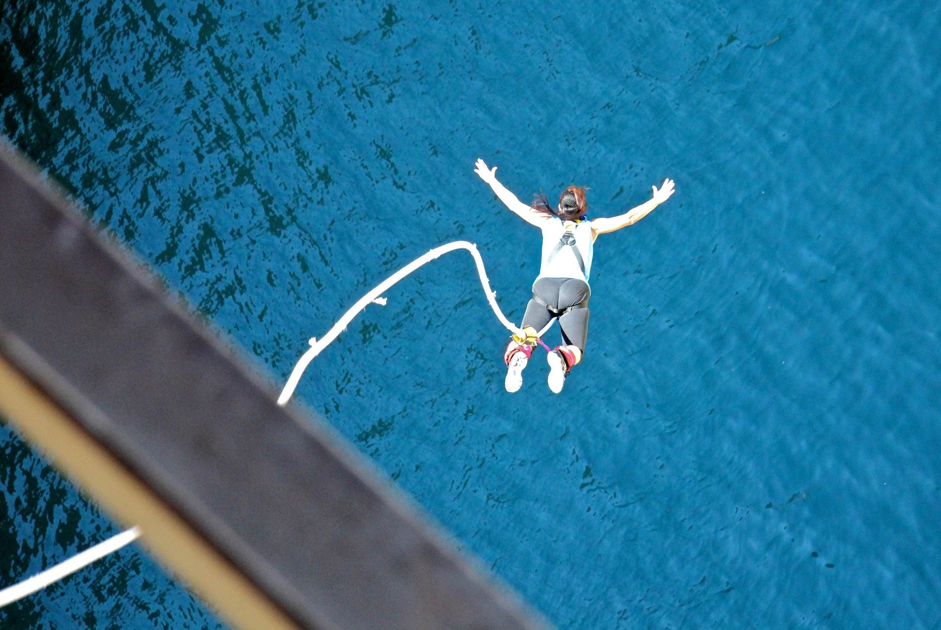 Greece sports: Bungee jumping
