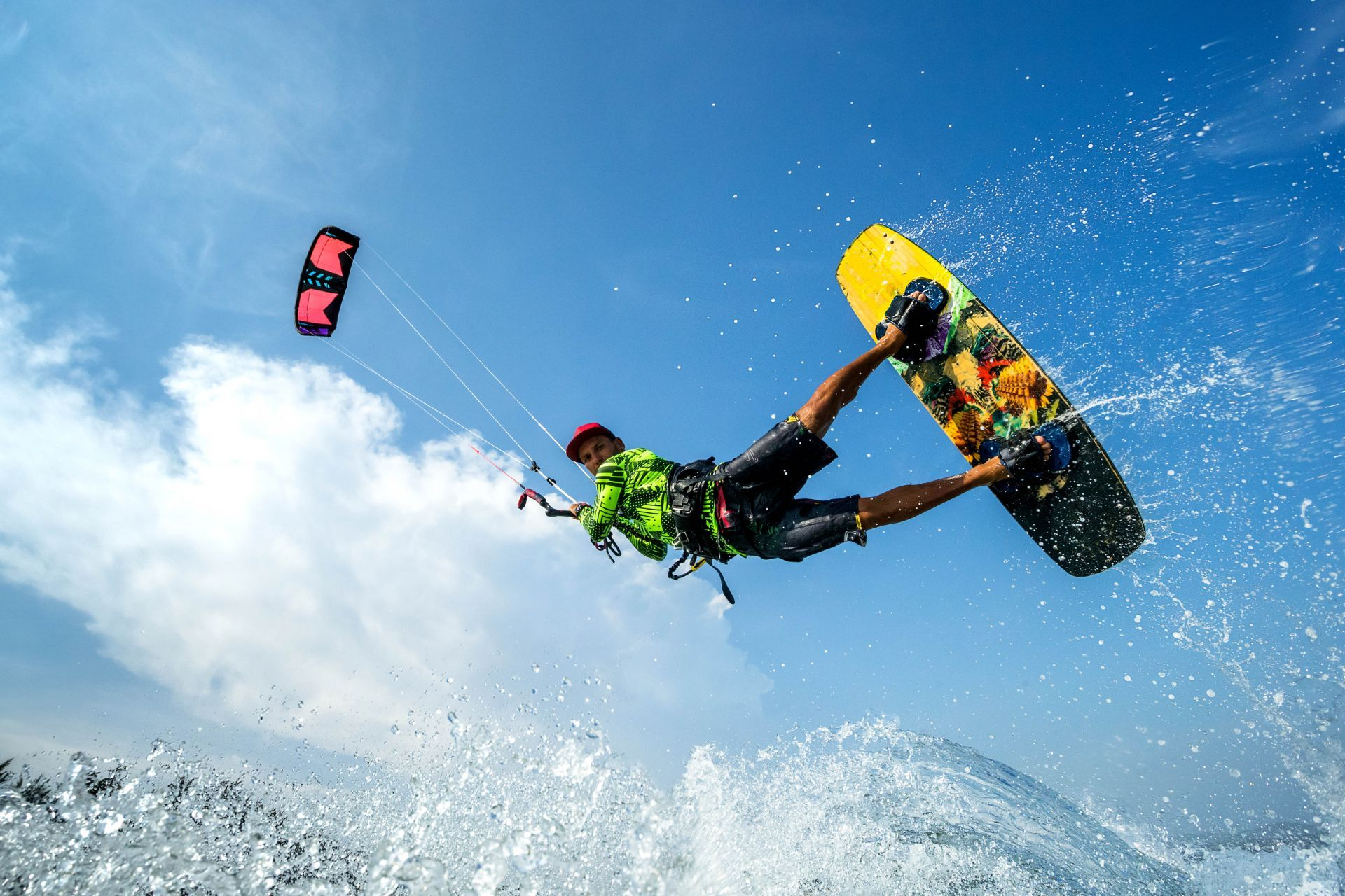 Greece sports: Kitesurfing