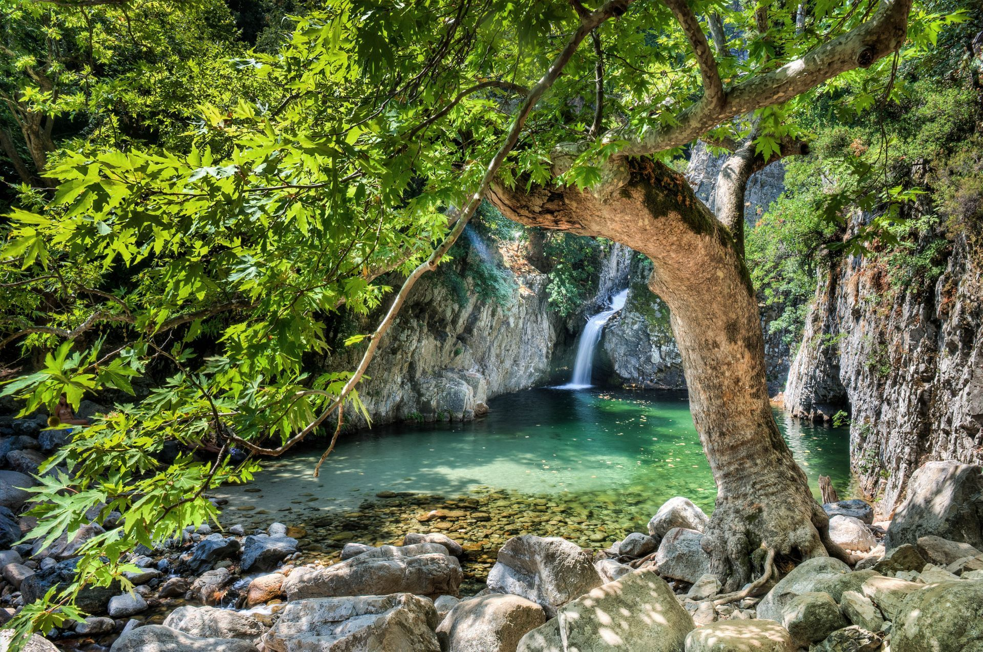 Greece sports: River trekking