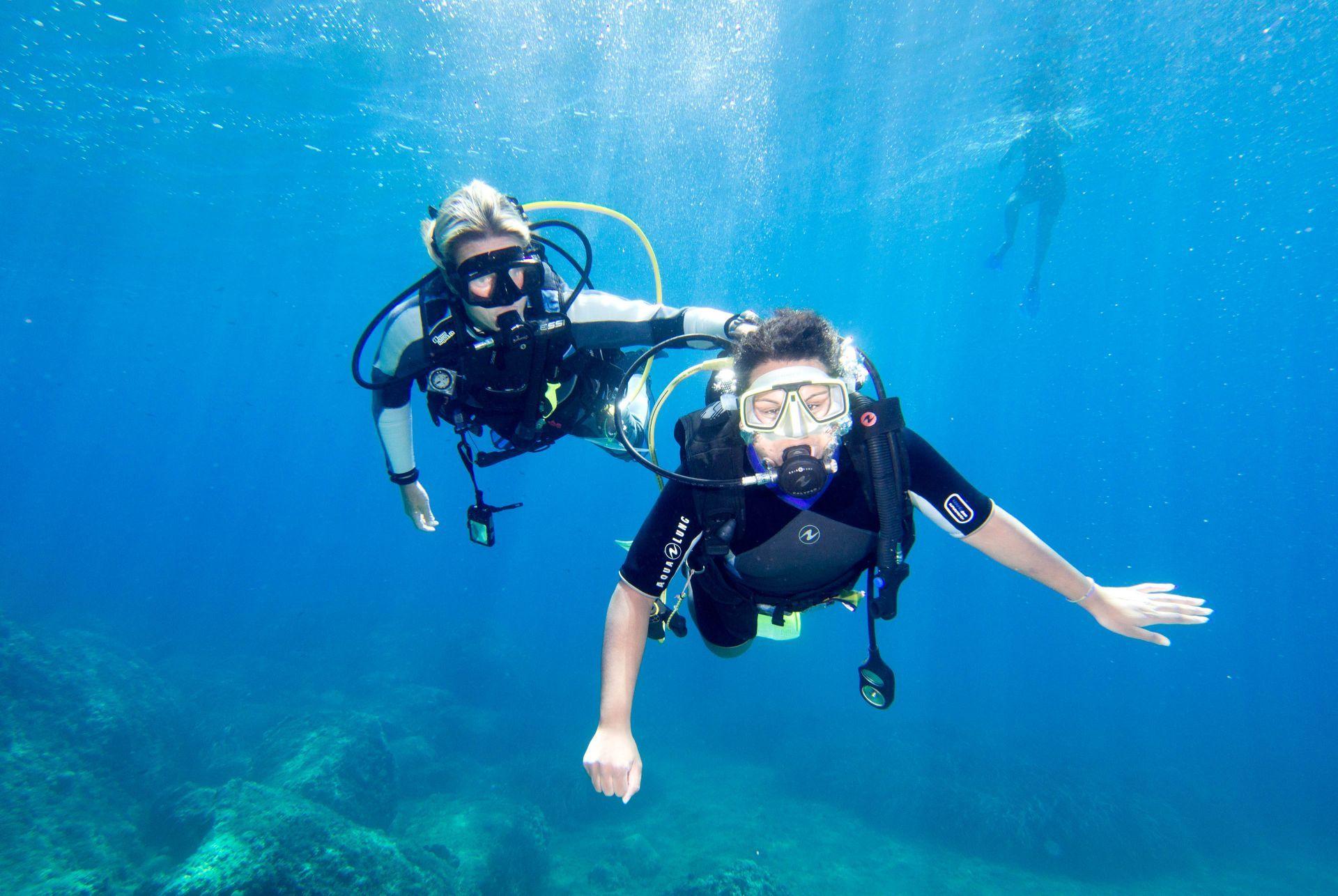 Greece sports: Scuba diving in Greece