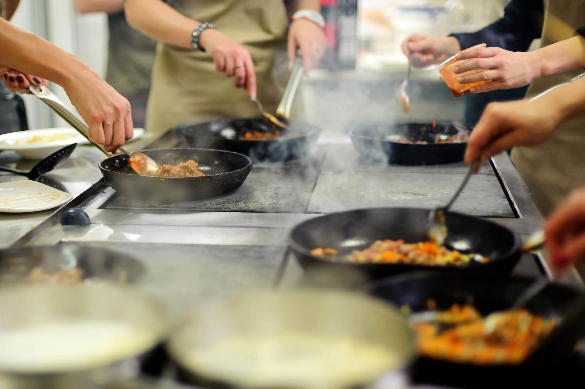 Greece workshops: Cooking