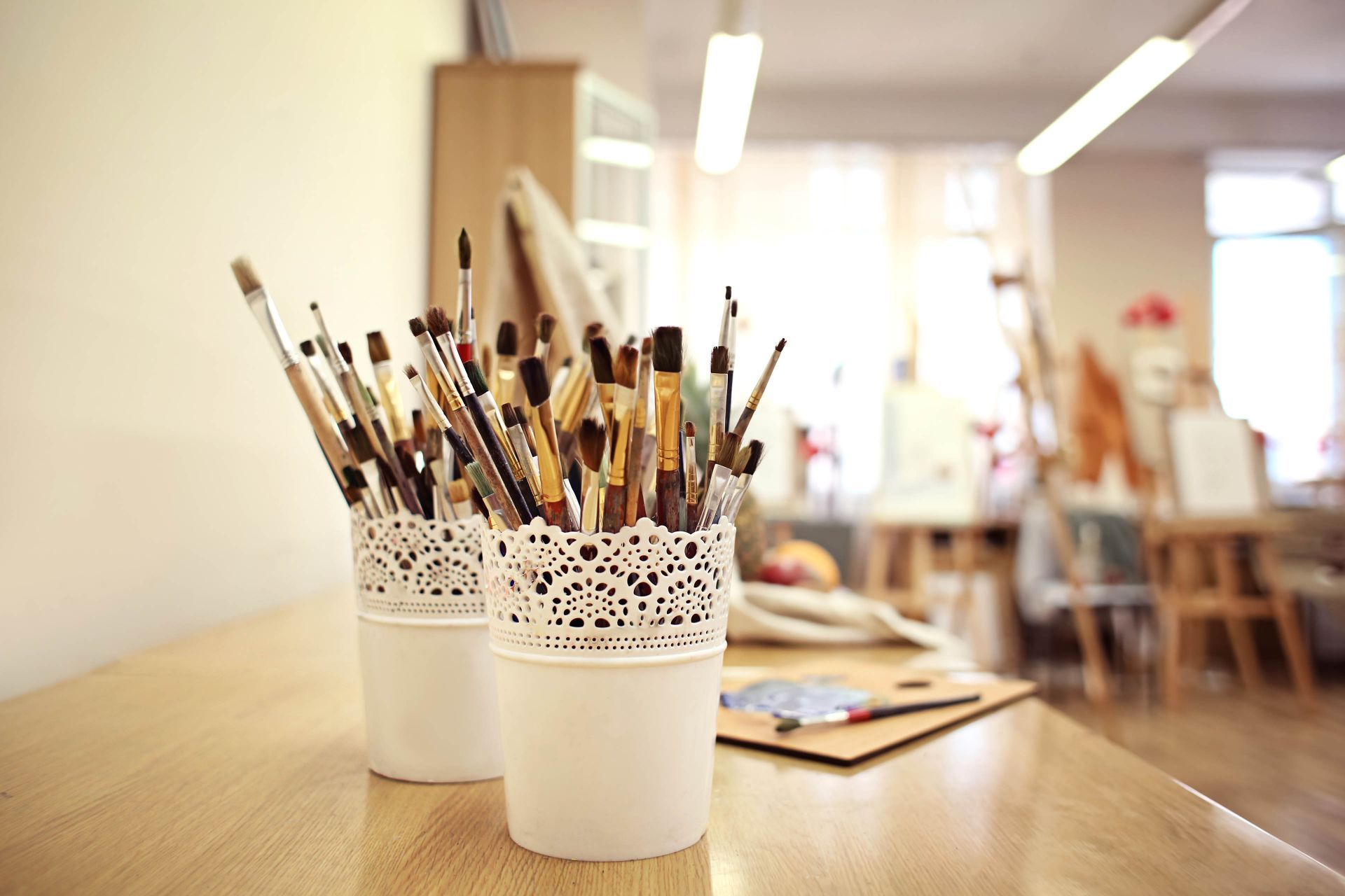 Greece workshops: Painting