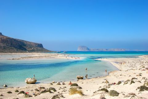 Photo of Balos beach in Chania, Crete