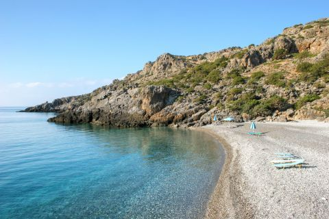 Krios beach in Chania, Crete