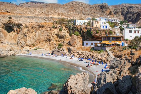 Sfakia beach in Chania, Crete